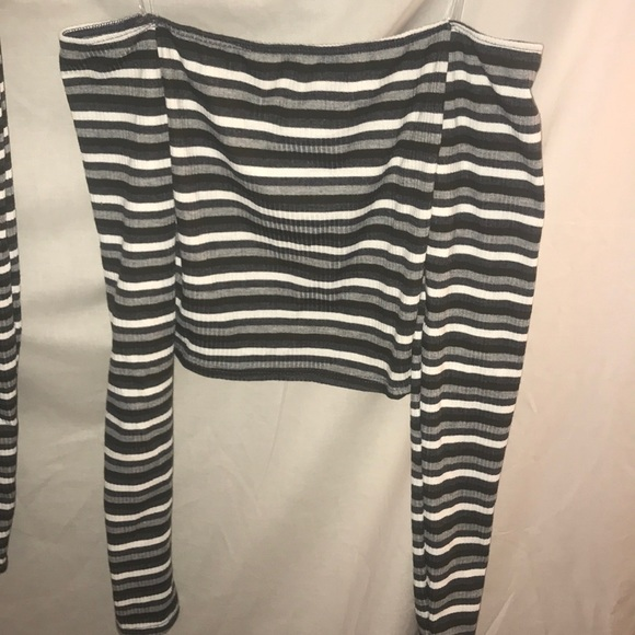 a9653d1d326 Windsor Off Shoulder Striped Tube